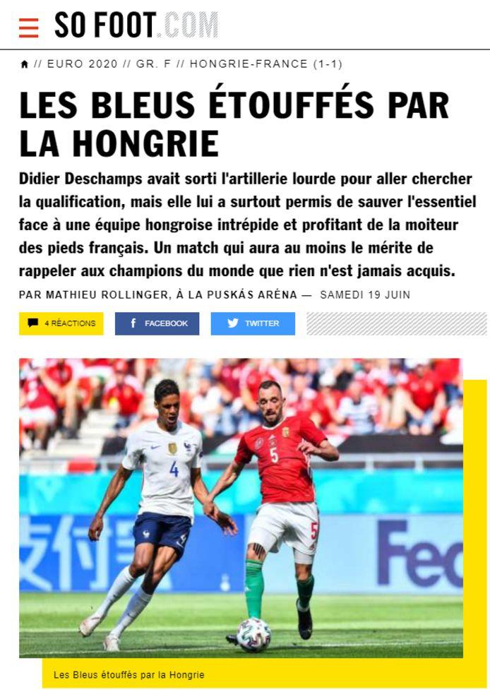 SoFoot over de Franse nationale ploeg.