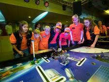 First Lego League in Helmond: Robots stelen de show