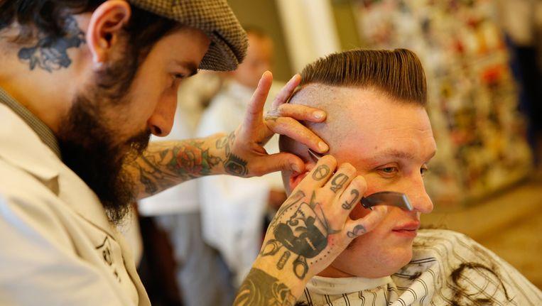 BarberSociety Live is speciaal voor mannen. Beeld anp