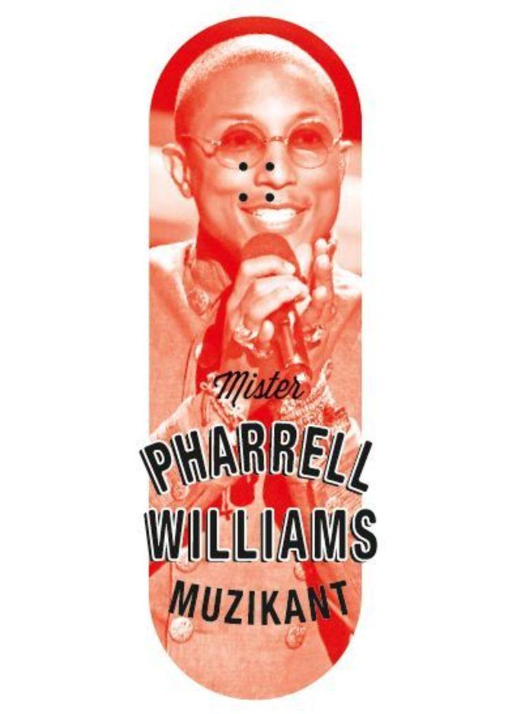 Pharrell Williams. Beeld DM