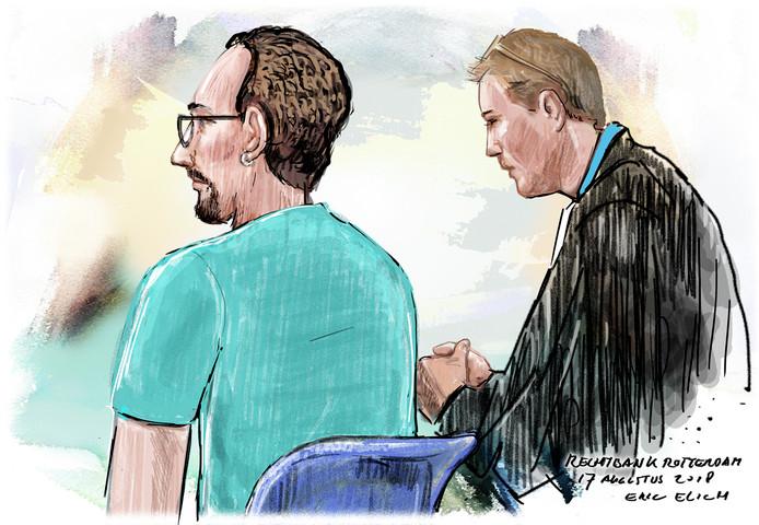 Wik H.  in de rechtbank.