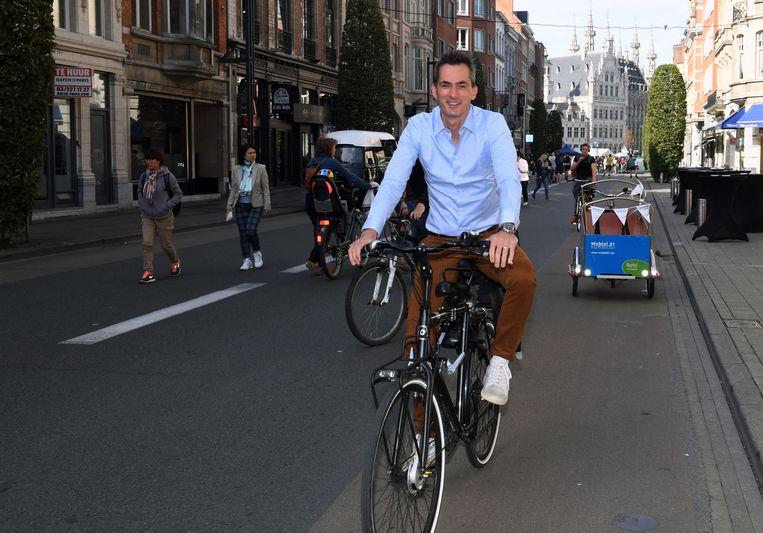 Lorin Parys gaat Leuven naar eigen zeggen niet verwaarlozen nu hij ondervoorzitter van N-VA is geworden.
