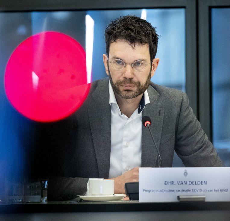 Jaap van Delden, vaccinatiedirecteur bij het RIVM. Beeld ANP