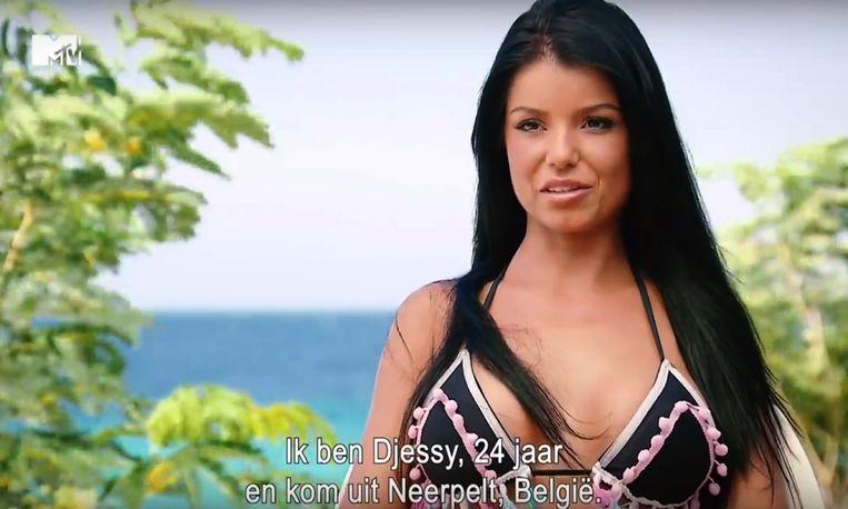 Djessy uit het vierde seizoen van 'Ex on the Beach: double Dutch'
