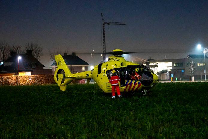 Scooterrijder zwaargewond bij eenzijdig ongeluk in Oss.