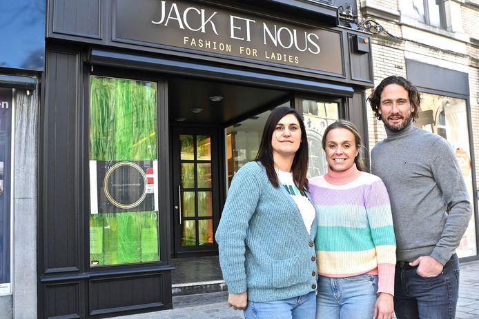 Lindsay Soenen, Nikita Taveirne en Sacha Vandenkendelaere zijn de drijvende krachten achter Jack et Nous.