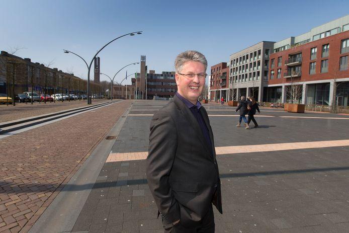 Nieuwe wethouder gemeente Dronten Dirk Minne Vis.