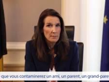"""La Première ministre Wilmès aux jeunes Belges: """"N'organisez pas de soirées en réponse aux fermetures"""""""