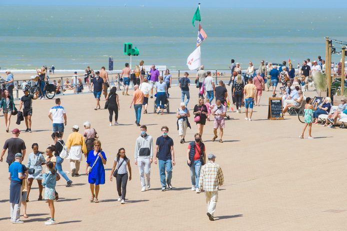 Met een piek tot 45000 bezoekers, was het een echte topdag in Oostende .
