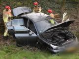 Dronken automobilist slaat over de kop in Tilburg