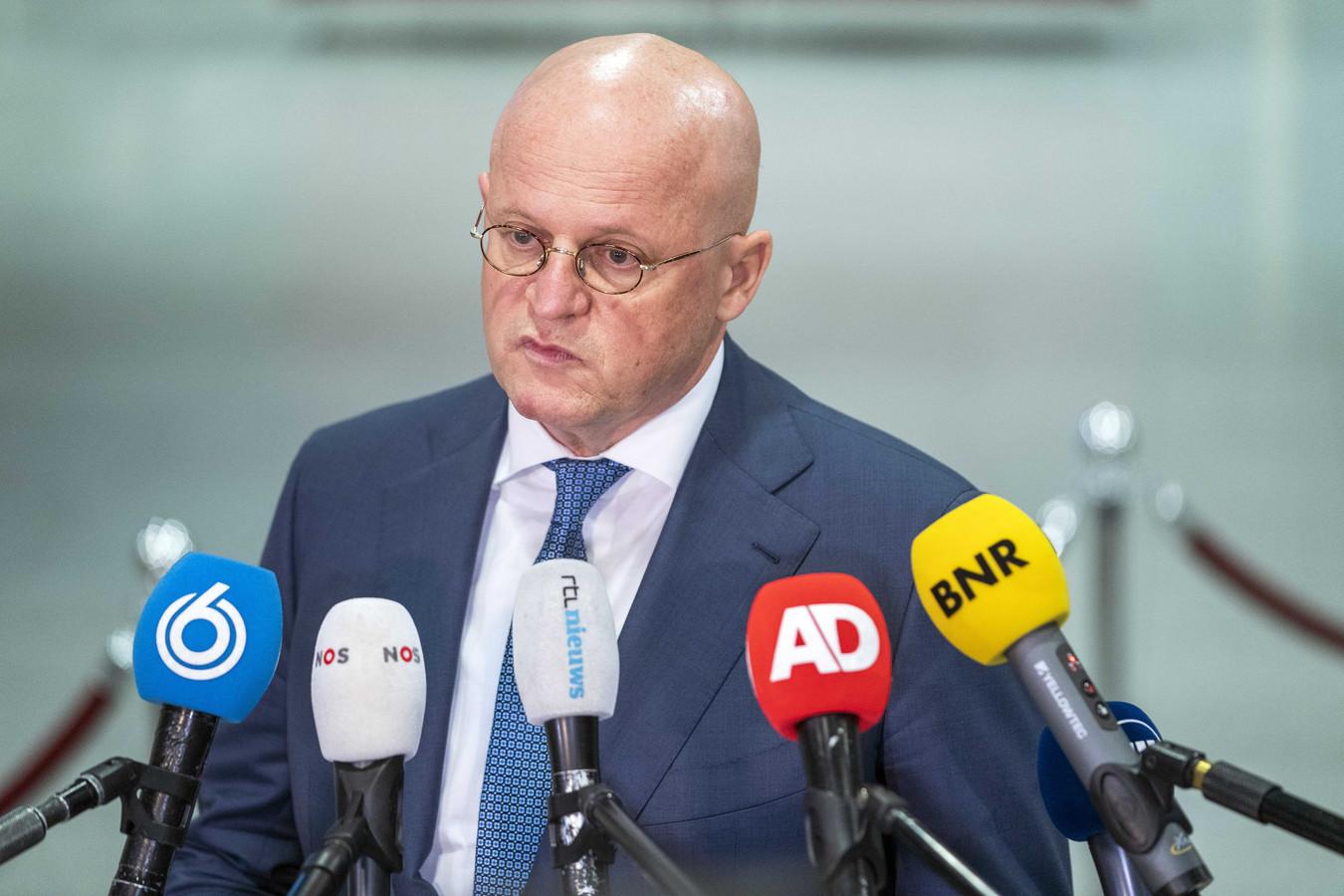 Demissionair minister van Justitie en Veiligheid Ferd Grapperhaus.