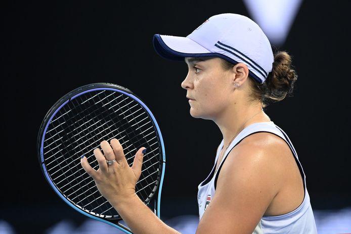 Troisième quart de finale consécutif à Melbourne pour Ashley Barty.