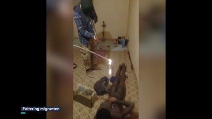 Families Afrikaanse vluchtelingen afgeperst met martelvideo's