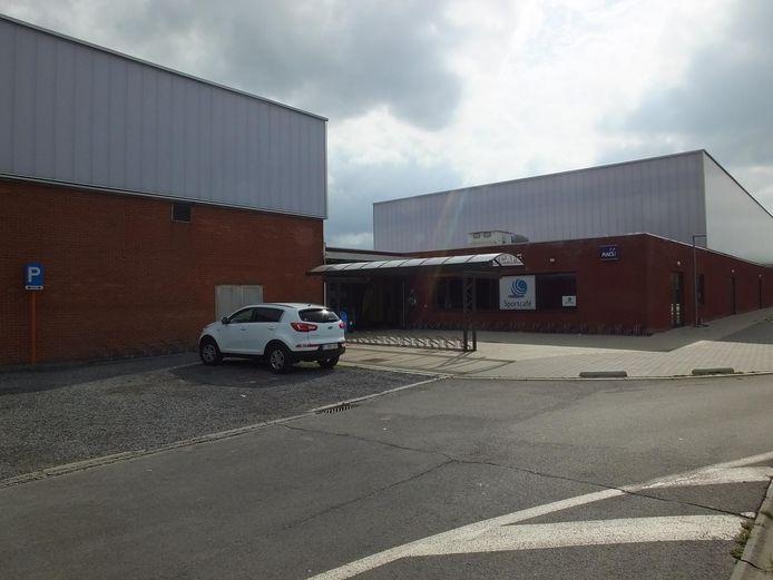 De sportzaal van Zulte.