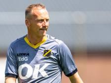 NAC-trainer De Graaf: 'Als we ons kunnen versterken, zou ik er graag een ander type spits bij willen'