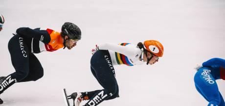 Regenboogpak voor wereldkampioene Suzanne Schulting: 'Ik voelde me wel een beetje opgelaten'