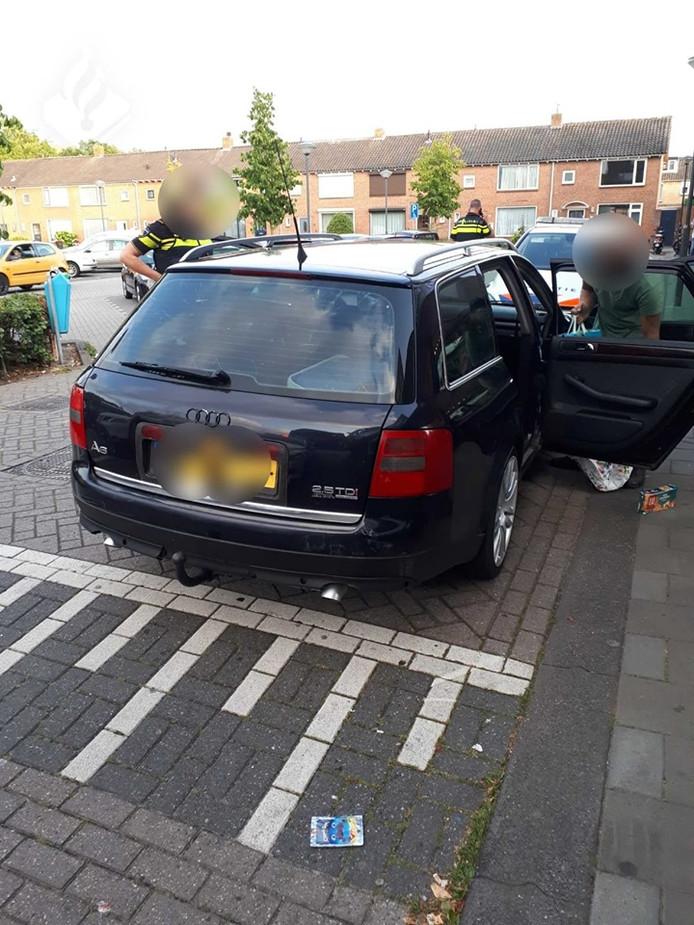 De 34-jarige man uit Giessen raakte zijn auto kwijt omdat hij eerder was gepakt voor rijden zonder rijbewijs.