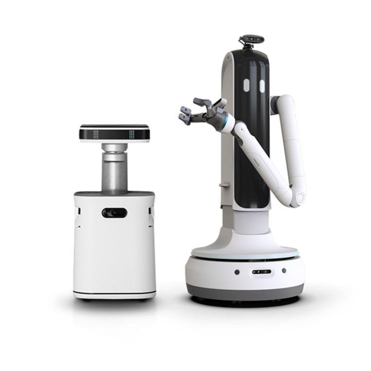 Robot Handy van Samsung kan helpen met huishoudelijke klusjes. Beeld Samsung