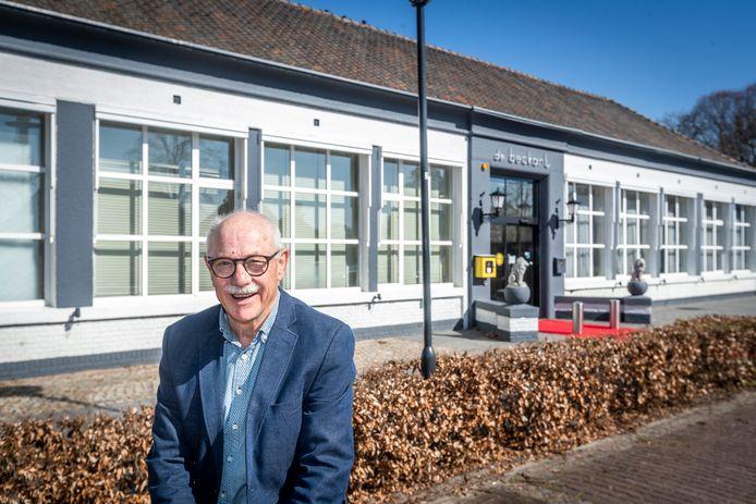 Voorzitter Ad Maas is bezorgd over de voortzetting van gemeenschapshuis De Beckart.