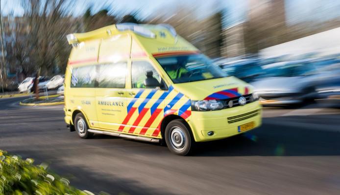 Zorgambulance, deze ambulance rijdt geen spoedmeldingen.