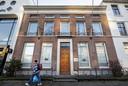 De woning van Cees J. aan de Jansbinnensingel.