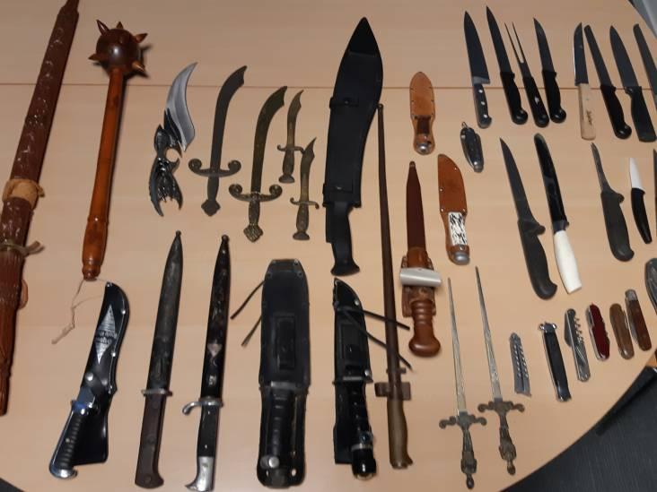 150 wapens ingeleverd bij Oost-Brabantse actie,  waaronder middeleeuwse knots