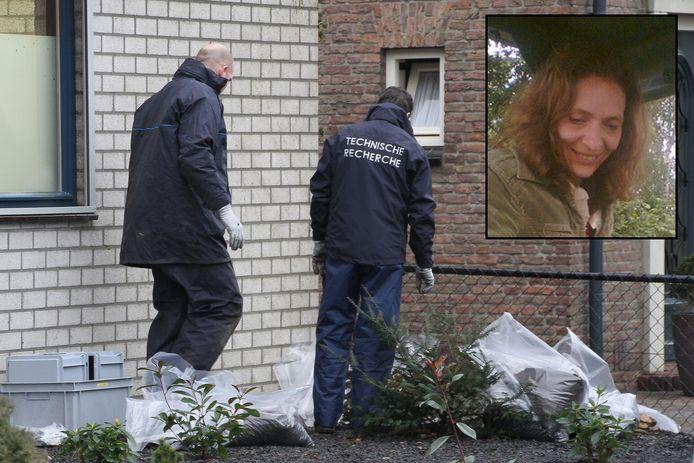 Het stoffelijk overschot van de 48-jarige Marja Nijholt werd 1 januari 2013 op de oprit van een woning in Oss gevonden.