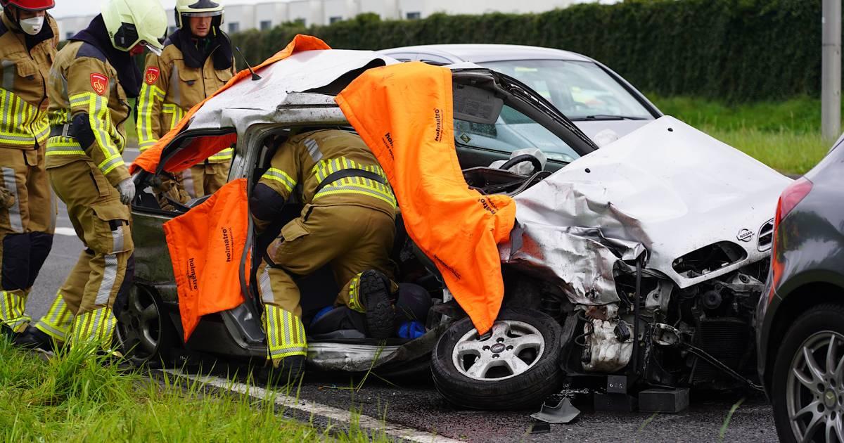 Verkeerslichten werkten niet bij ernstig ongeval op kruising in Tilburg.