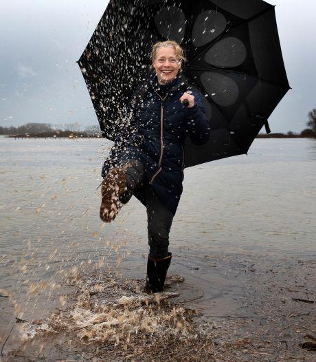 We kunnen zonder vrees genieten van het extreem hoge water: 'Dit is vooral mooi omdat niet spannend is'