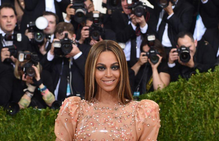 Beyoncé zal de stem van de volwassen Nala vertolken in de nieuwe live-action versie van de populaire Disneyfilm 'The Lion King'. Beeld AFP