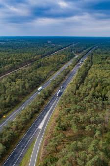 Politiek Gelderland: kan die brandsingel langs A28 niet wat smaller?