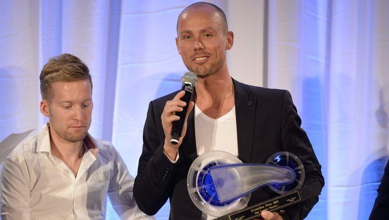 Sven Nys won voor Jan Bakelants. Beeld PHOTO_NEWS
