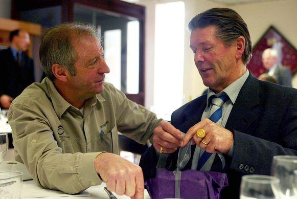 José De Cauwer met Eric De Vlaeminck in 2003.