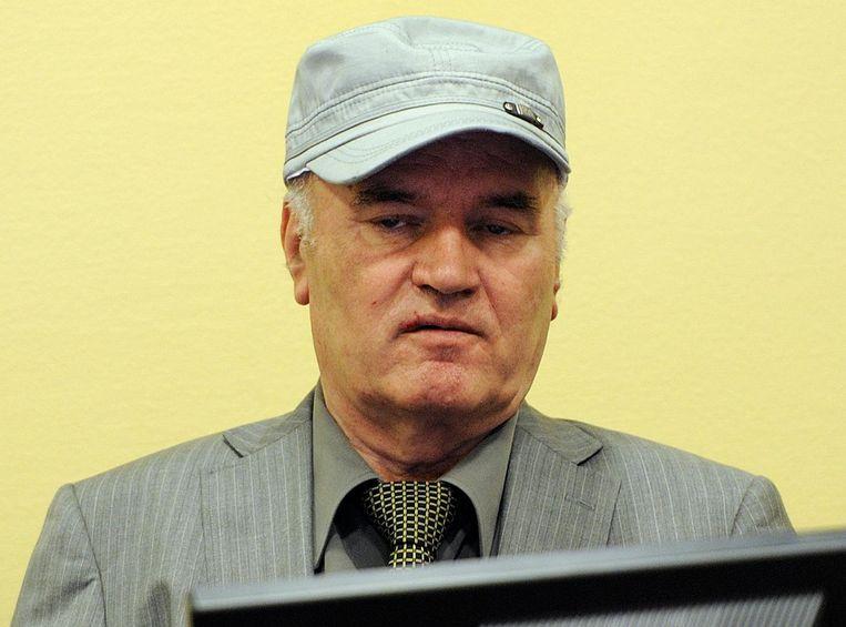 Ratko Mladic. Beeld anp
