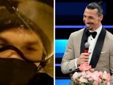 Trajet en moto avec un inconnu et performance musicale: la folle soirée d'Ibrahimovic au festival de Sanremo