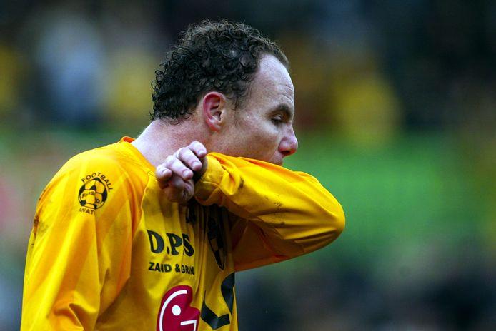 Bertrand Crasson in het shirt van Lierse.