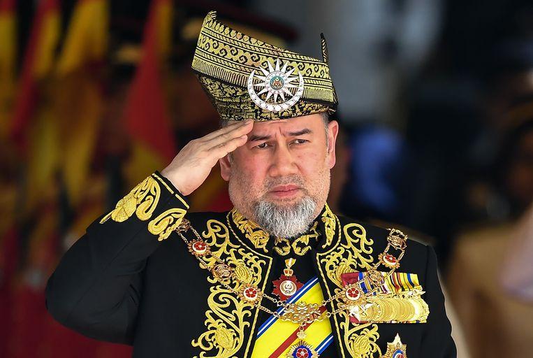 Sultan Muhammad V.