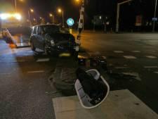 Verkeerslicht valt naar beneden bij ongeluk op Oldenzaalsestraat in Enschede