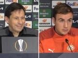 Götze en Schmidt kijken vooruit naar de wedstrijd tegen Olympiakos