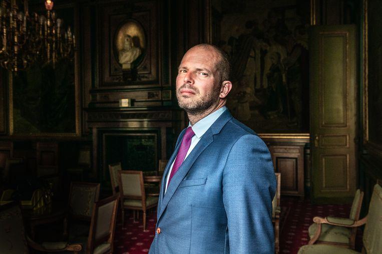 Theo Francken (N-VA). Beeld Christophe De Muynck