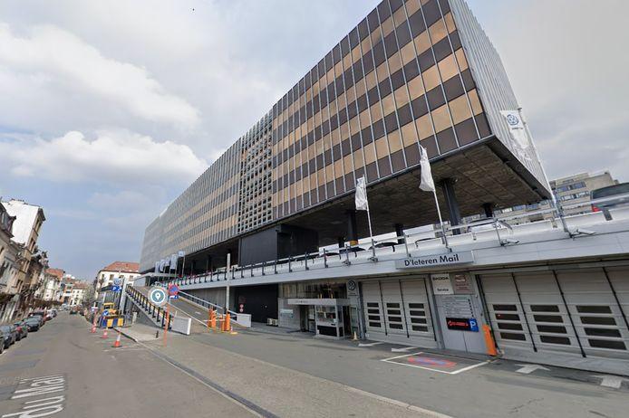 Le siège du groupe D'Ieteren à Ixelles.