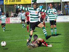 Zeelandia Middelburg komt een goaltje tekort voor verlenging