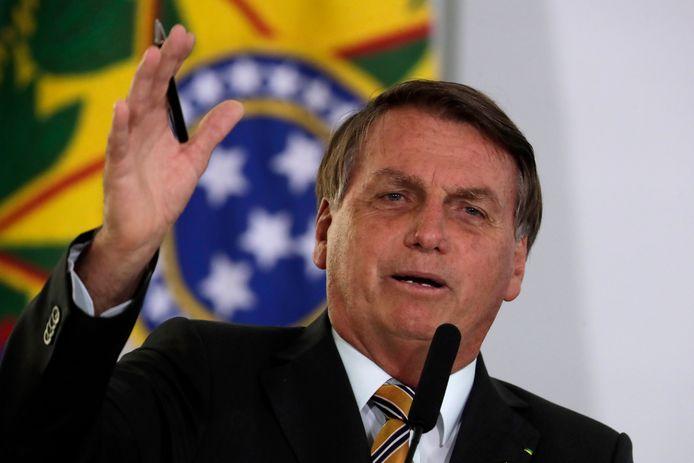 """,,Volgens mijn bronnen was er veel fraude bij de verkiezingen"""", aldus de Braziliaanse president Jair Bolsonaro."""