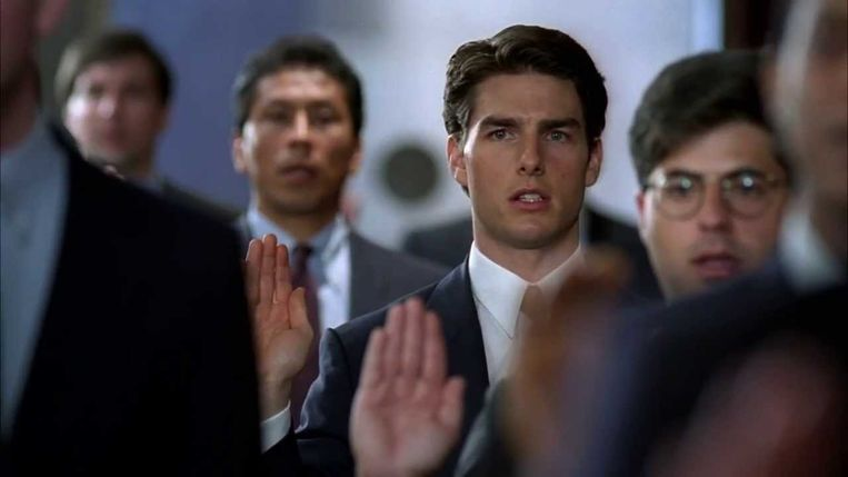 Tom Cruise in 'The Firm'. Beeld rv