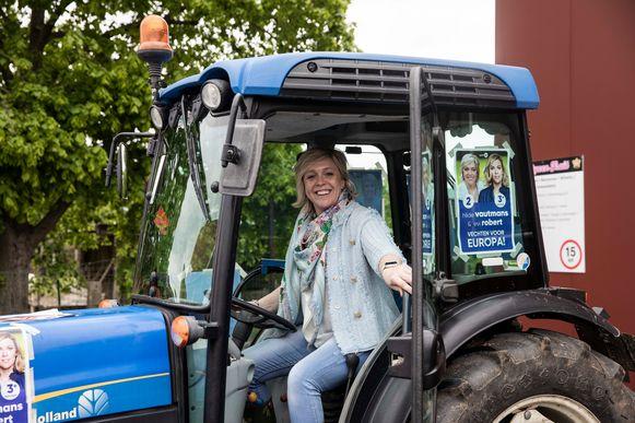 Hilde Vautmans vestigt de aandacht op haar negenpuntenplan, waarmee ze de boeren wil helpen.