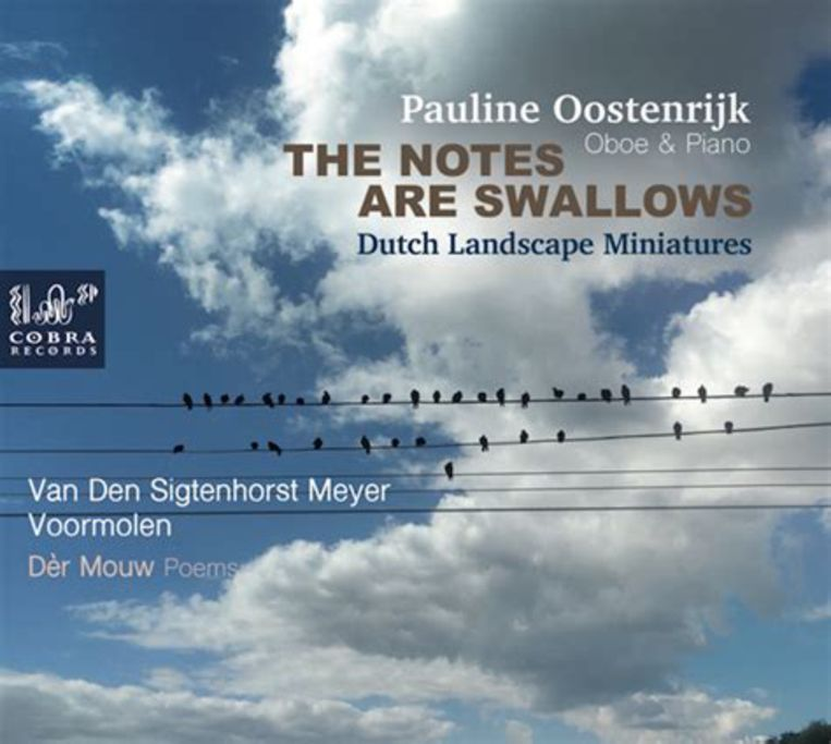 Pauline Oostenrijk, The notes are swallows. Beeld -