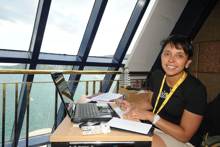 Karine Bozzacchi, al twaalf jaar lang milieucoördinator. Beeld ASO/B.Bade