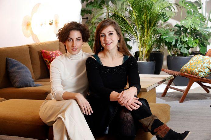 Elke Buyle en Aline Goffin