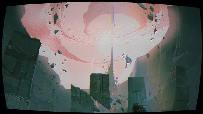 De game zit in een pakkende pixelgraphic-esthetiek.