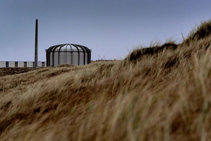 De huidige kernreactor in Petten.